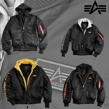 Alpha Industries Men's Jacket MA-1 D-Tec SE Bomber Jacket MA1 Winter Jacket NEU