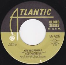 "Drifters, The-On Broadway / I've Got Sand In My Shoes 7"" 45-Atlantic, OS 13013,,"
