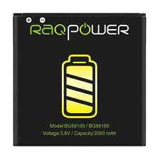 RAQPower 2000 mAh BG86100 Durable Li-ion Battery For HTC MyTouch 4G Slide