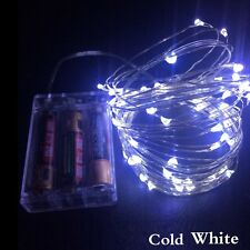 LED Copper Wire String Lights Xmas Festival Wedding Party Decoration Garland
