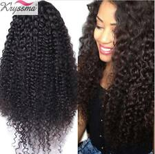 Curly Real Hair Wigs Brazilian Remy Human Hair Glueless Full Lace/Front Lace Wig