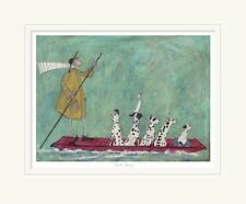 Punts Away! - Limited Edition Print by Sam Toft