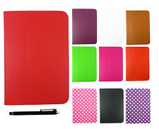 Samsung Google Nexus 10 Tablet Multi Angle Wallet Cover Case + Black Stylus