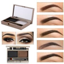 Eyebrow Powder Eye Brow Palette Makeup Cosmetic Shading Kit With Brush Mirror