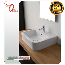 """LAY-ON OR WALL-MOUNTED WASHBASIN WITH TAP HOLE """"NEXT"""""""