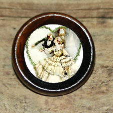 VICTORIAN VALENTINE Fashion Beauty Altered Art Tie Tack or Ring or Brooch pin