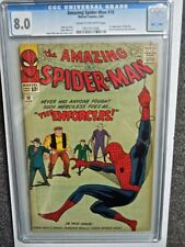 1964 AMAZING SPIDER-MAN #10 CGC 8.0 VF 1ST APPEARANCE OF THE ENFORCERS