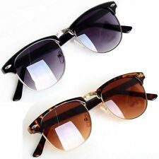 Hot! New Fashion Retro Vintage Womens Mens Designer Oversized Sunglasses RS