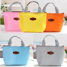 Portable Thermal Insulated Cooler Lunch Box Travel Picnic Carry Tote Bag CU