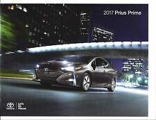 2017 TOYOTA  Prius Prime PLUS/PREMIUM & ADVANCED Models 22 Page Brochure