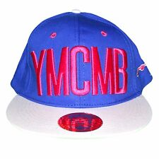 YMCMB - SNAPBACK CAP - ADJUSTABLE SIZE - BLUE PINK NEW