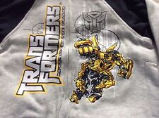 BNWT Boys Grey and Black Transformers Tracksuit - Various Sizes