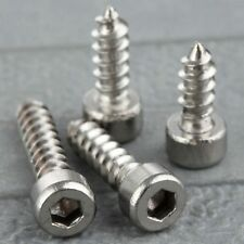 50Pcs M4 10/12/16/20mm Self Tapping Screws Hex Socket Head Bolts Stainless Steel