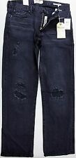 NWT Lucky Brand 361 Vintage Straight Triumph Motorcycle Limit Blk Jeans 7MD10190