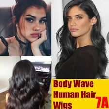 Real Human Hair Wig Body Wave Indian Remy Hair Front Lace Wigs For Black Women