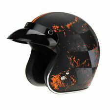 VIPER RS-05 SLIM MOTORCYCLE MOTORBIKE SCOOTER OPEN FACE RETRO MOD JET HELMETS