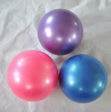 """Sale New Pilates Yoga 8"""" Blue Ball Fitness over ball bender HH"""