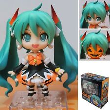Hatsune Miku Halloween Ver. Changeable Face With Pumpkin 9cm PVC Figure #448