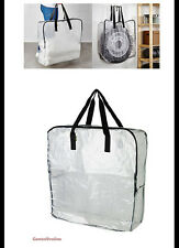 IKEA Clear Storage Bags Zippered or Recycling Bags DIMPA Free Shipping
