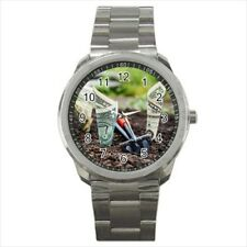 Investing Money Stainless Steel Sports Watch