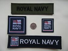 Royal Navy TRF, Service ID Titles & Morale Patches. x 4 options New.