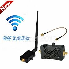 Professional 2.4GHZ 4W Wifi Wireless Broadband Amplifier Router Signal IB