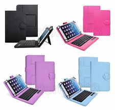 Detachable Bluetooth Keyboard Folio Case For Acer Lenovo Toshiba Android Tablet