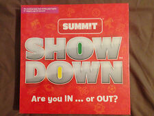 Show down game - Are you in... or out?