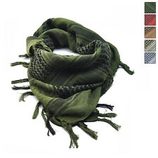 Thick Cotton Arab Shemagh Army Military Tactical Scarf Shawl Head Cover Wrap