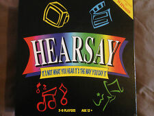 Hearsay boardgame, It's not what your hear it's the way you say it - Complete