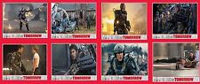 Edge of tomorrow x8 sifi movie lobby cards photo poster Tom Cruise Emily Blunt