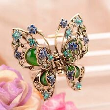 Retro Butterfly Clip Hair Ornaments Vintage Costume Hair Claw Hair Accessories 5
