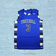 One Tree Hill Lucas Scott 3 Ravens Basketball Jersey Blue Men s-2xl