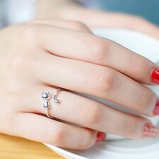 Cute Animal Cat Open Finger Ring Jewelry Charm Women Party Prom Gift Remarkable