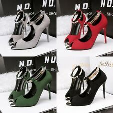 Roman Sandal Peep Toe High Heel Hollow Out Stiletto Ankle Strap New Womens Shoes