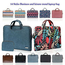 14 styles Canvas / Nylon Computer Laptop Sleeve Bag Case Carrying Cover Bohemian