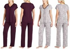 NEW - Midnight by Carole Hochman Ladies' 2 Piece Pajama Set, Size XS, or M