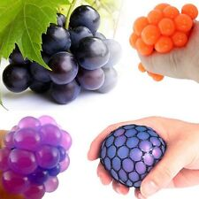 Funny Toys Relief Stress Reliever Grape Ball Autism Mood Squeeze Healthy Toy LN