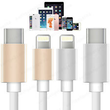 Premium USB 3.1 Type C to Lightning Fast 3A Data Charger Cable for iPhone iPad