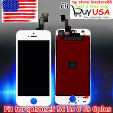Black LCD Display+Touch Screen Digitizer Assembly Replacement for iPhone 6 FASHI