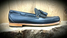 G. H. Bass & Co // Weejuns // Layton Pull Up Loafers Navy Shoes // RRP £125.00