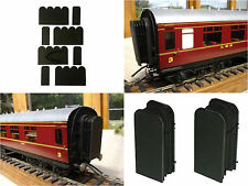 Finescale GWR or BR O Gauge Coach Ends Kit or Ready Made Model Railway Carriage