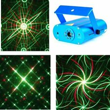 New Mini DJ Laser Stage Lighting Light Disco Party Club Galaxy Projector NW