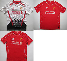 Liverpool FC 2013/14 2014/15 jersey shirt camiseta soccer Warrior mens S M L