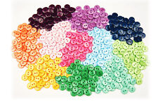 RESIN 2HOLES BUTTONS MIXED COLOURS CRAFT DIY SCRAPBOOK SEWING CARDMAKING