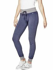 GUESS Pants Womens Zoya Quilted Skinny Track Leisure Pants XS S or M Blue NWT