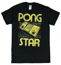 Men's Atari Pong Star Vintage Style Video Game T-Shirt