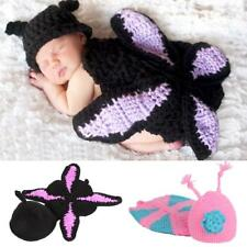 Lovely Knit Crochet Butterfly Clothes Photo Prop Outfits For Baby
