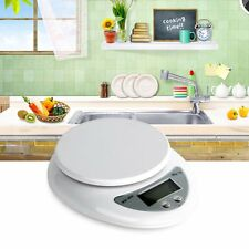 5kg 5000g/1g Digital Kitchen Food Diet Postal Scale Electronic Weight Balance QW