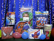Spiderman Party Set # 19 / 20 Spiderman Party Supplies For 16 Includes Favors